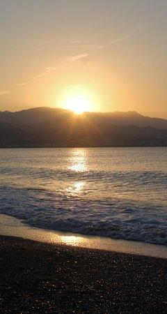 BQ Andalucia Beach Hotel: levé de soleil à TORRE DEL MAR