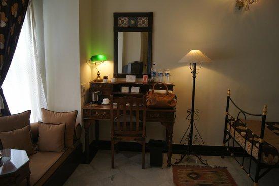 Hotel Udai Kothi : Vue de la chambre