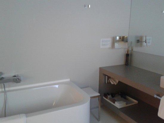 La Butte Aux Bois Hostellerie : bathroom