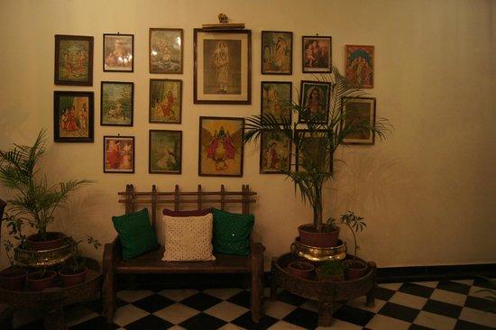 Hotel Udai Kothi : Décoration