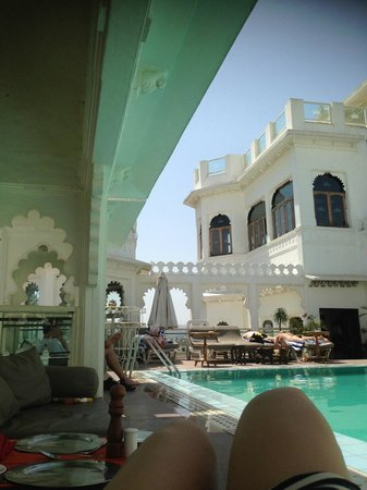 Hotel Udai Kothi: Piscine