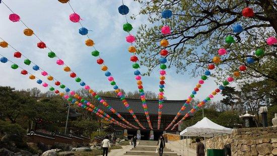Bongeunsa Temple: All these beautiful lanterns... breathtaking.