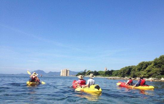 Kayak Iles de Lérins