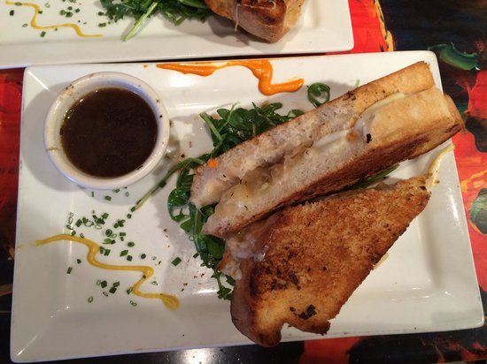 eat here: Grilled cheese