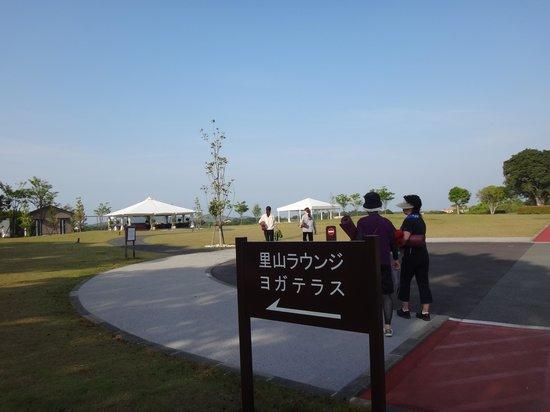 "Nemu Resort Hotel Nemu: ""朝ヨガ""に向かいます"