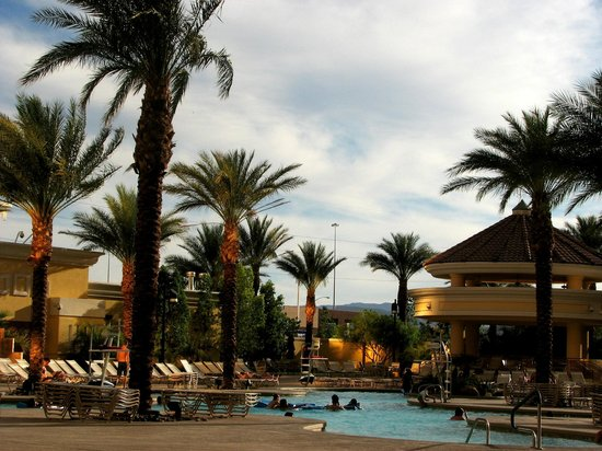 South Point Hotel, Casino and Spa: Pool area