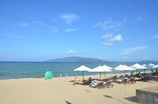 TTC Hotel Premium - Michelia : Пляж отеля