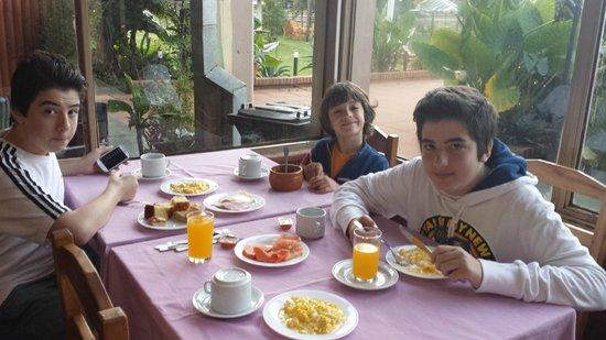 Hotel Carmen Iguazu : Comedor: lugar sencillo pero cálido