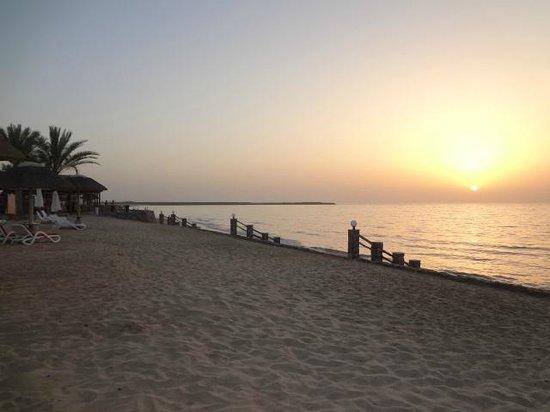 Cove Rotana Resort Ras Al Khaimah: sunset