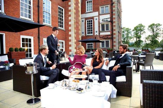 The Grand Hotel & Spa: The Ruinart Terrace