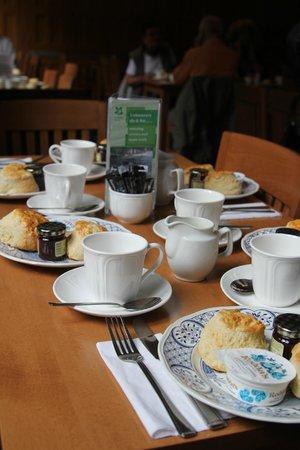 Lanhydrock House and Garden: Beim Cream Tea
