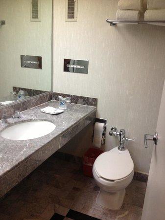 Hotel Bristol: Baño
