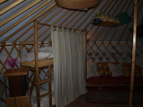 Camping le Reclus: coin enfants