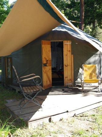 Camping le Reclus: entrée
