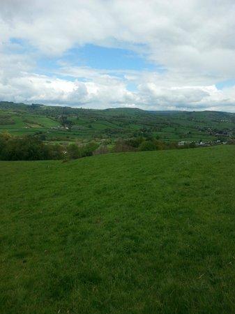 Luxury Lodges Wales: lovely walk
