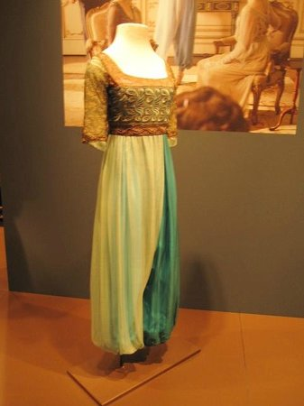 Winterthur Museum, Garden & Library: Harem pants outfit worn by Lady Sybil
