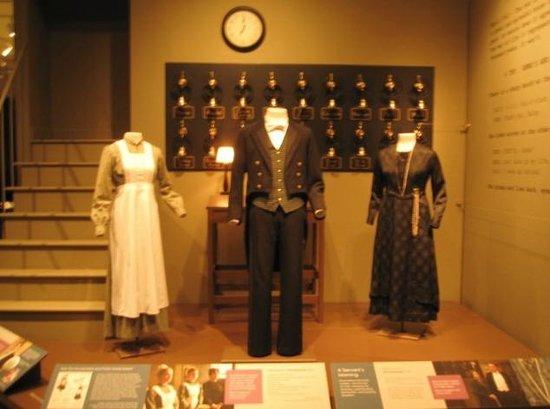 Winterthur Museum, Garden & Library : Downstairs attire