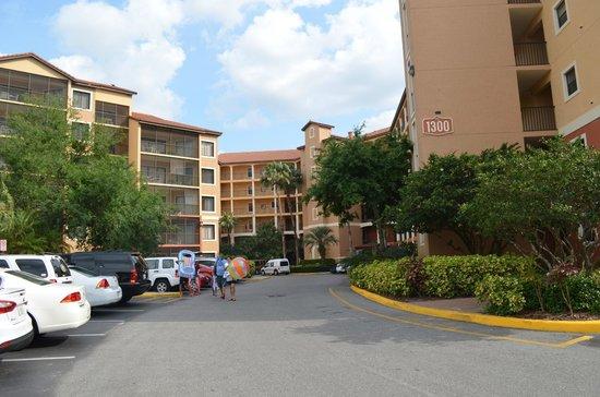 Westgate Lakes Resort & Spa: Algunos de los edificios.