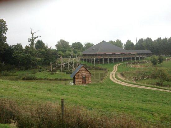 Cerza Safari Lodge : vue depuis les zoobservatoires
