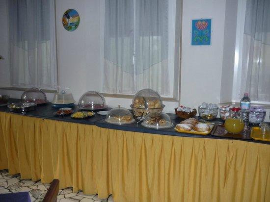 Hotel Alabama Rimini: Завтрак