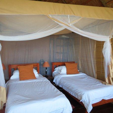 Chundukwa River Lodge: Beds