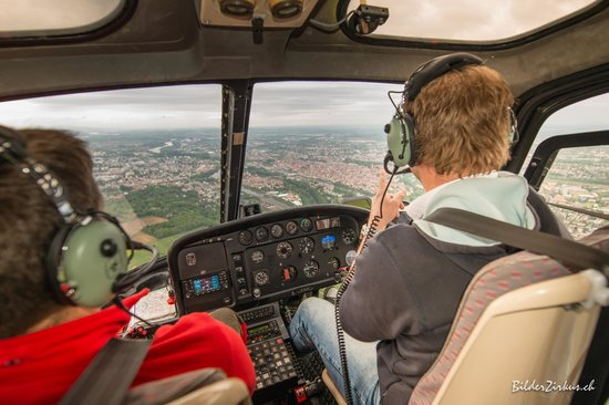 Hubschrauberflug  Regensburg