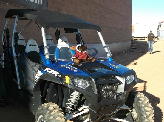 ATV and Jeep Adventure Tours: Razor with Bently Moose