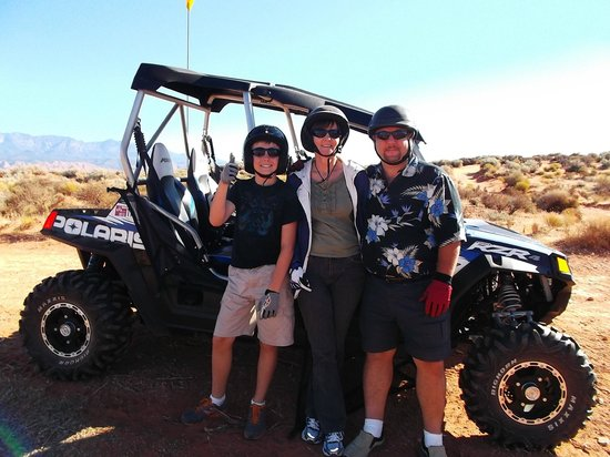 ATV and Jeep Adventure Tours: Our gang with Razor - Tour 1