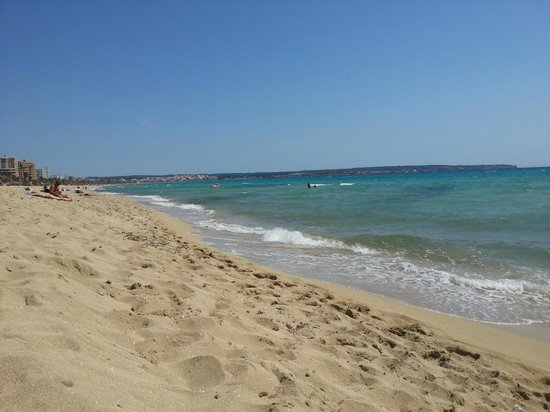 Hotel Amic Miraflores: spiaggia