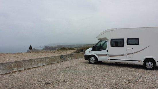 Cape Saint Vincent: Parking Cabo San Vicente