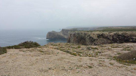 Cape Saint Vincent: Acantilado Cabo San Vicente