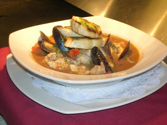 Robert Barral's Cafe Provence on Blush Hill: Seafood Stew