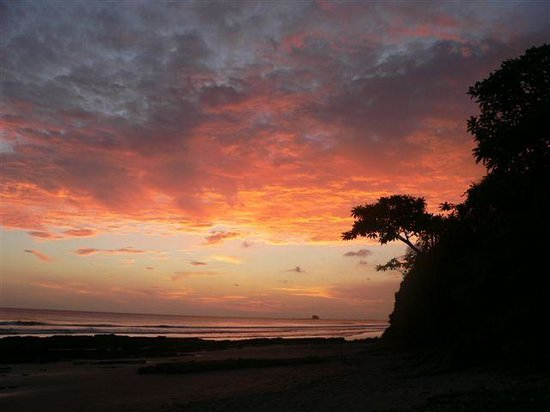 Playa Yankee, Nicaragua: Another incredible sunset