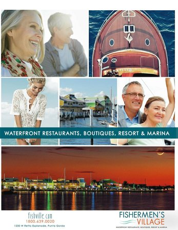 Punta Gorda, Φλόριντα: Waterfront Shopping, Dining, Marina