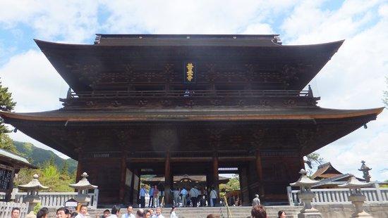 Zenko-ji Temple : 大門