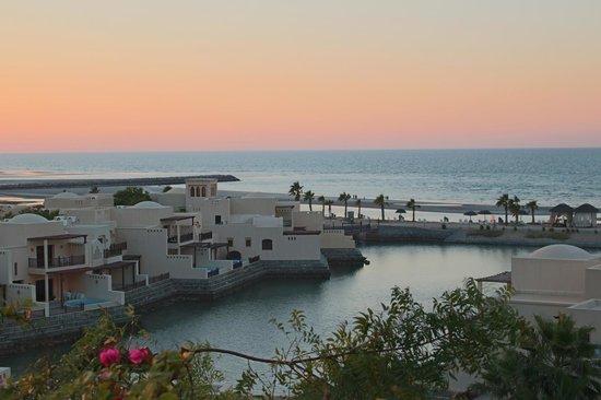 The Cove Rotana Resort Ras Al Khaimah: View form the reception