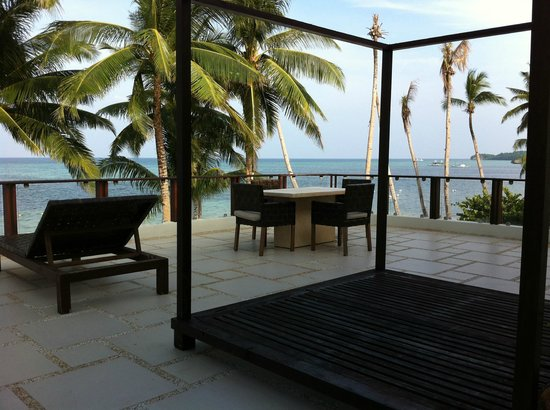 7Stones Boracay Suites: Terrace view