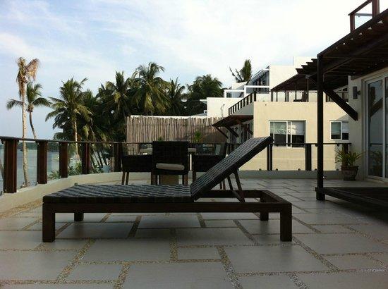 7Stones Boracay Suites : Terrace