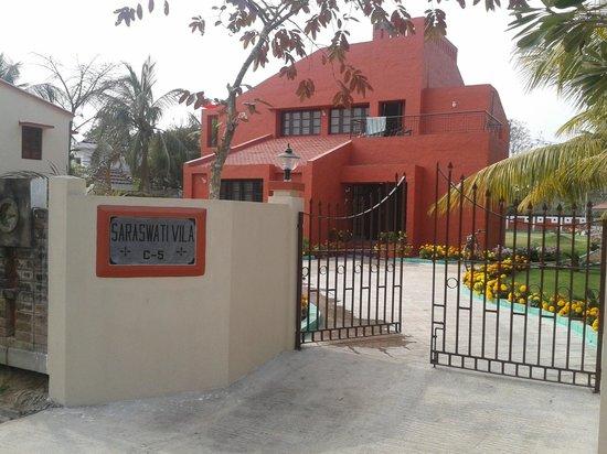 The Ffort Raichak : One of the villas