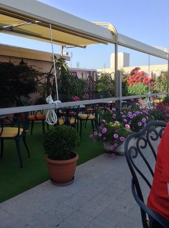 Marcella Royal Hotel: roof terrace
