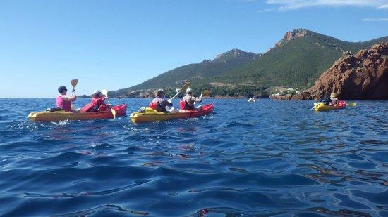 Kayak Theoule sur Mer