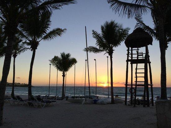 Barcelo Maya Colonial: la plage
