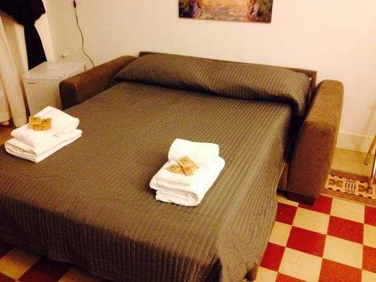 B&B AI Tintori: divano letto