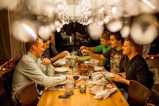Hotel Alpenblick: New concept in Restaurant