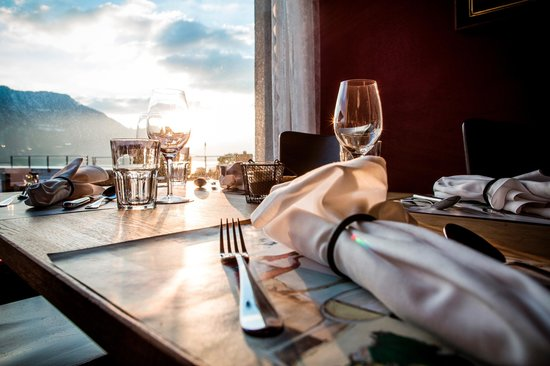 Hotel Alpenblick: Perfect for a romantic dinner