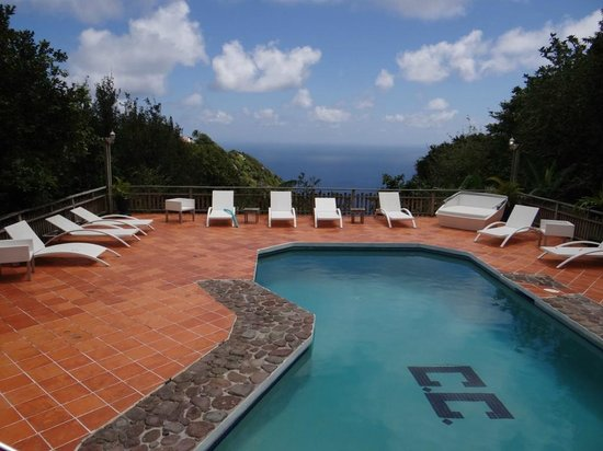 The Cottage Club : piscina