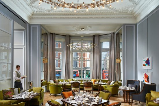 The Rosebery Lounge at Mandarin Oriental Hyde Park, London