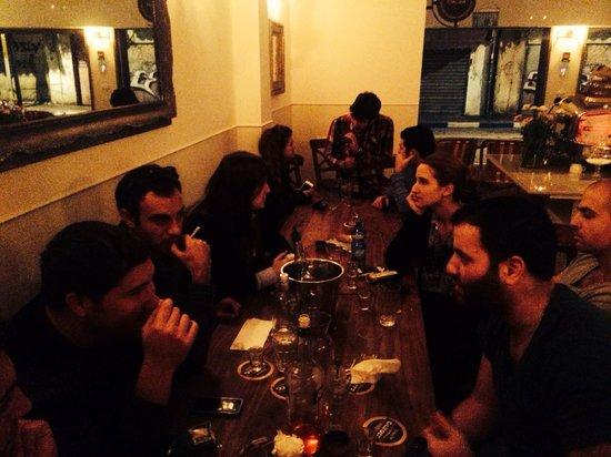 Welcoming the Shabat at Dalida!