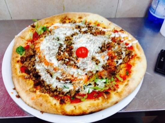 Mounir - Pizzeria & Kebab : pizza kebab