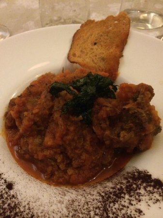 La Buca di Ripetta: Good oxtail, but you can do better.